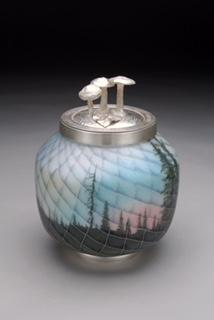 Harlan Butt Colorado Horizon #2, 2006 Silver and enamel Courtesy the artist