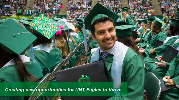 Creating new opportunities for UNT students