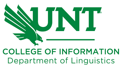 COI Department of Linguistics logo