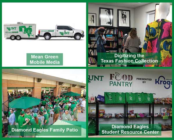 UNT Diamond Eagles Society 2020 Projects