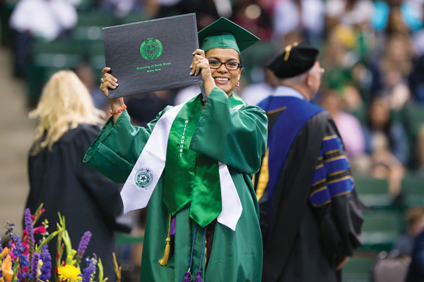 UNT graduation